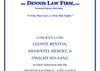 OA The Dennis Firm Ad - SRH-1