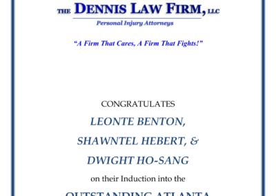 OA The Dennis Firm Ad - SRH-1
